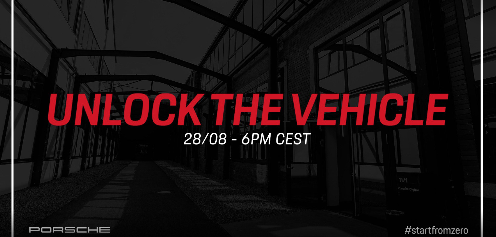 Unlock the Vehicle - Porsche Activity on Twitch